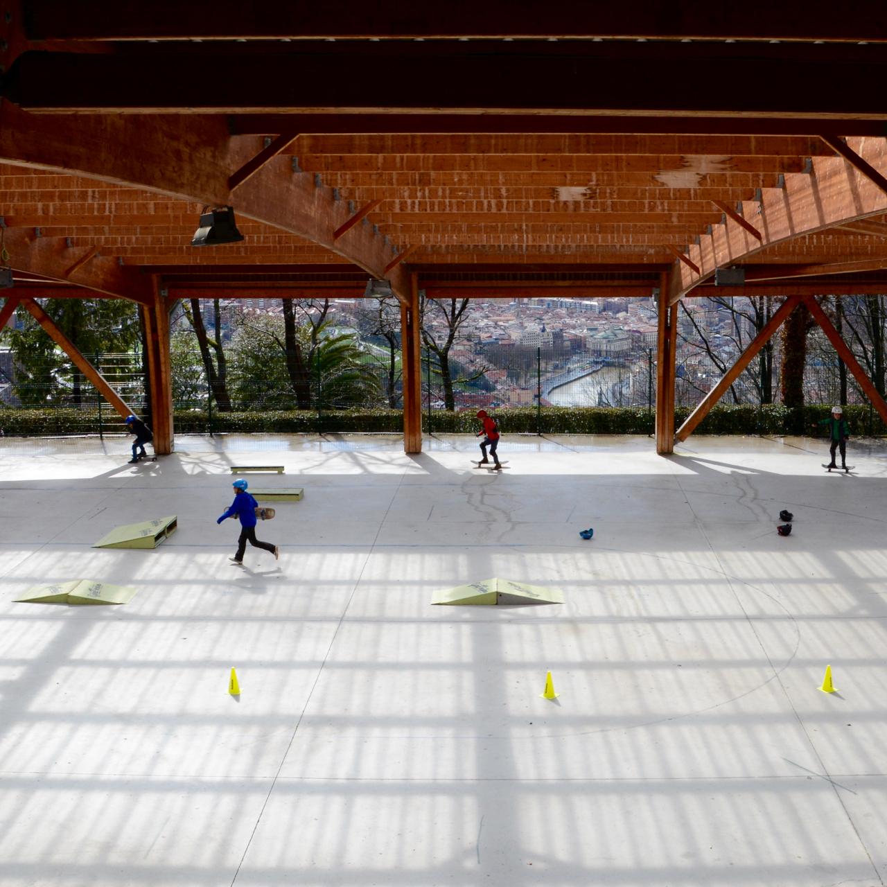 bilbao skateboard park