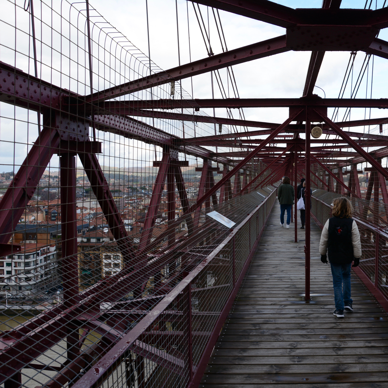 bridge vizkaya portugalete bilbao