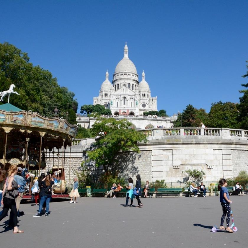 Paris France Sacre coeur carousell