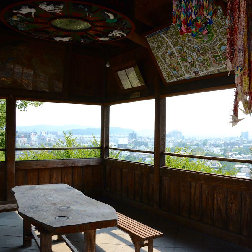 Kurashiki Achi shrine view