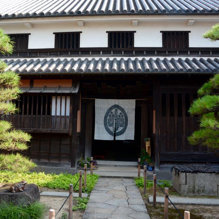 Kurashiki Ohashi house main entrance architecture
