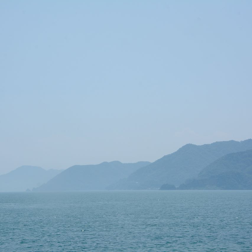 Our first day of cycling the Shimanami Kaido cycle path seto inland sea