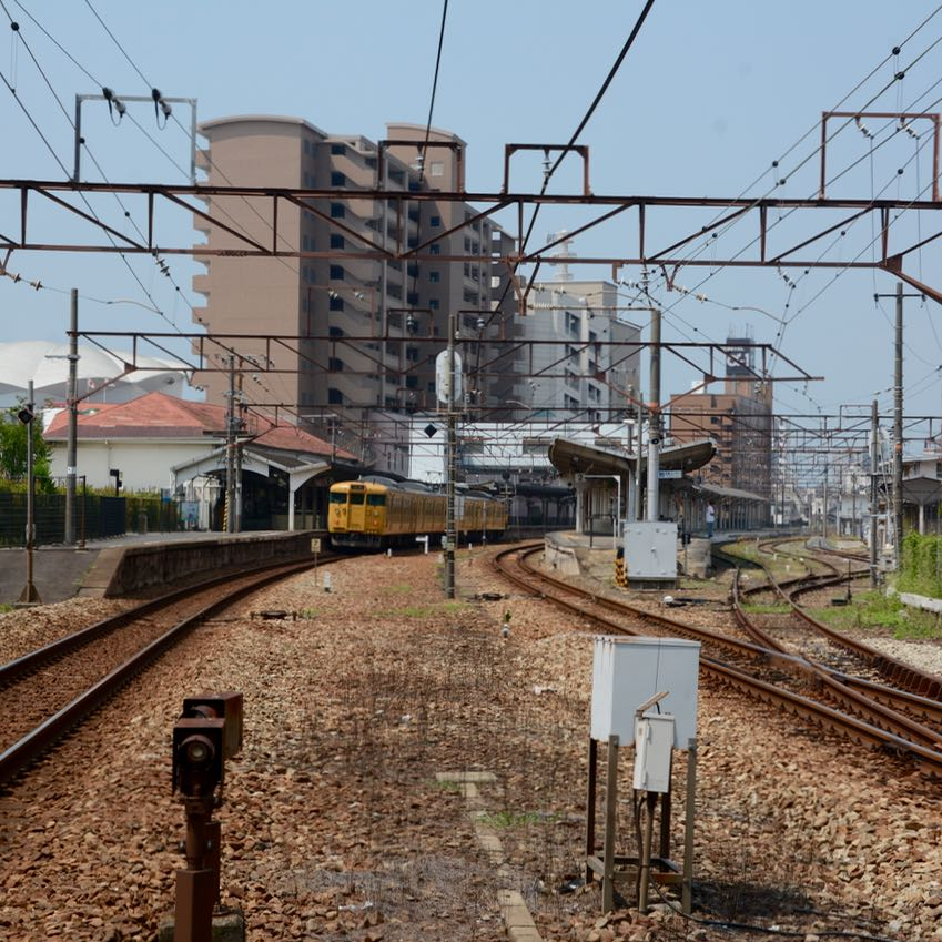 Onomichi japan train station
