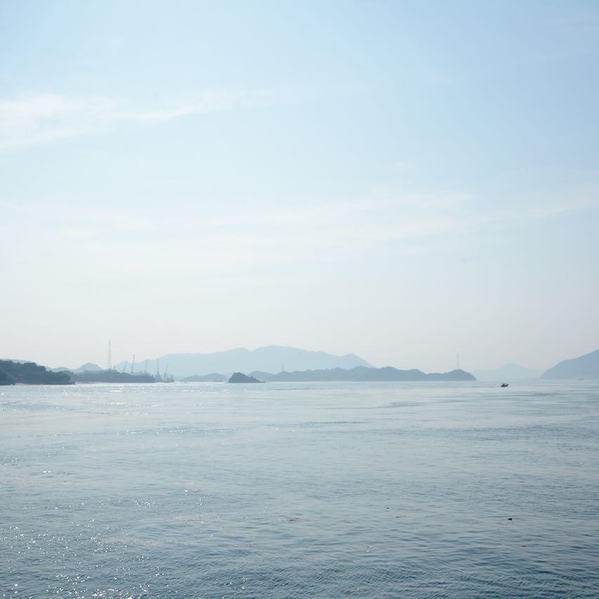 mukoujima beach seto inland sea