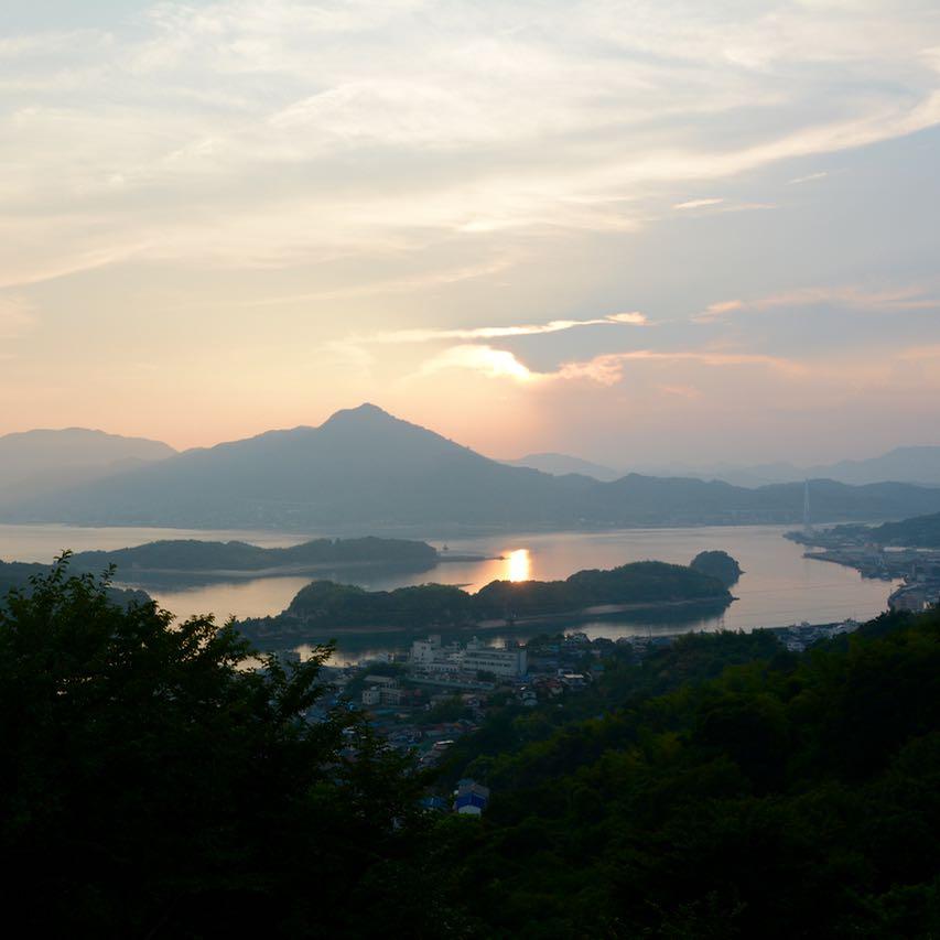 hotel innoshima view sunset