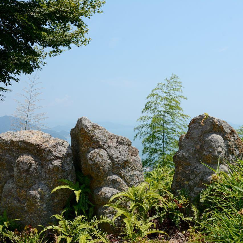 innoshima shiarataki shrine scenery