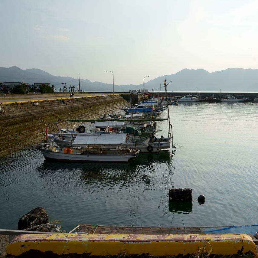 Ikuchijima setoda sunset beach port