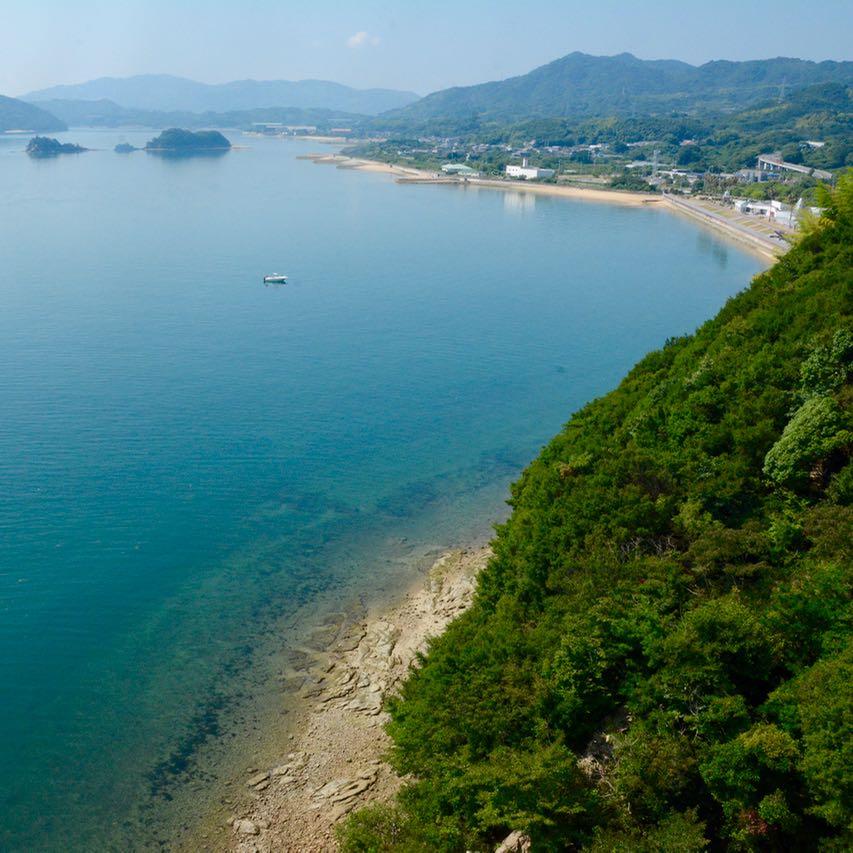 shimanami kaido cycling seto inland sea