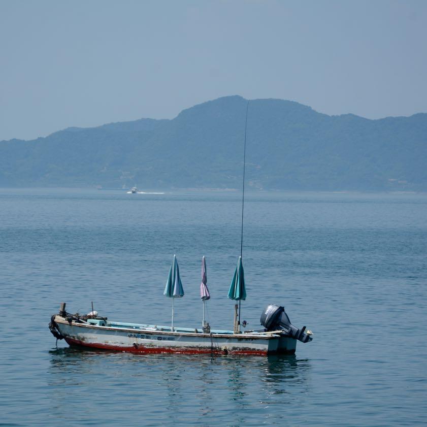 shimanami kaido cycling seto inland sea oshima boat