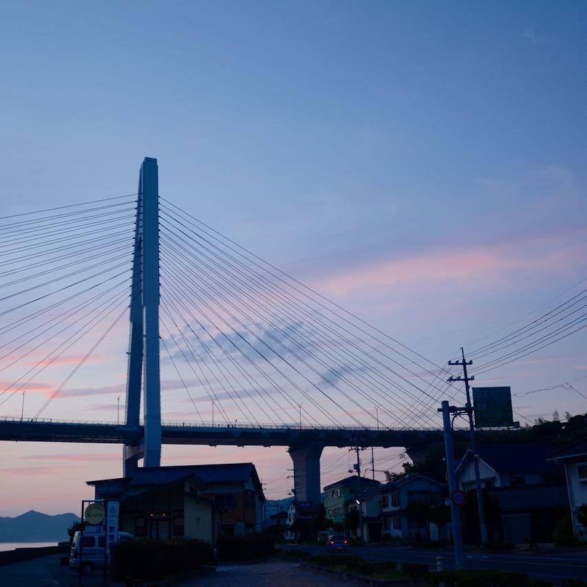 shimanami kaido cycling seto inland sea innoshima hashi