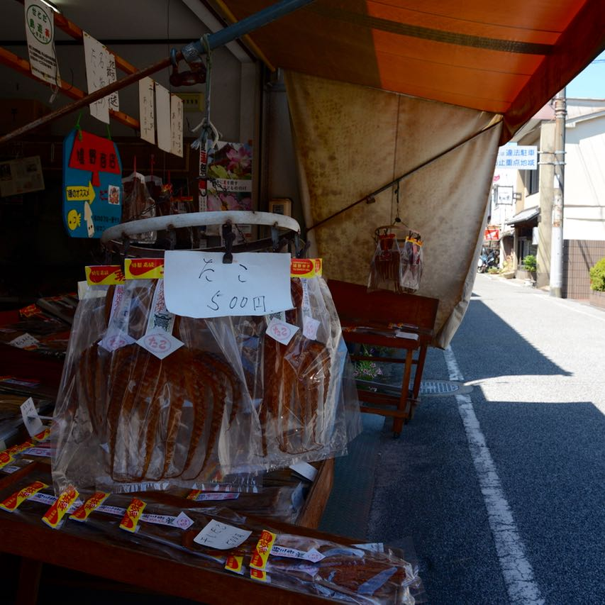 ikuchijima japan setoda shop octopus