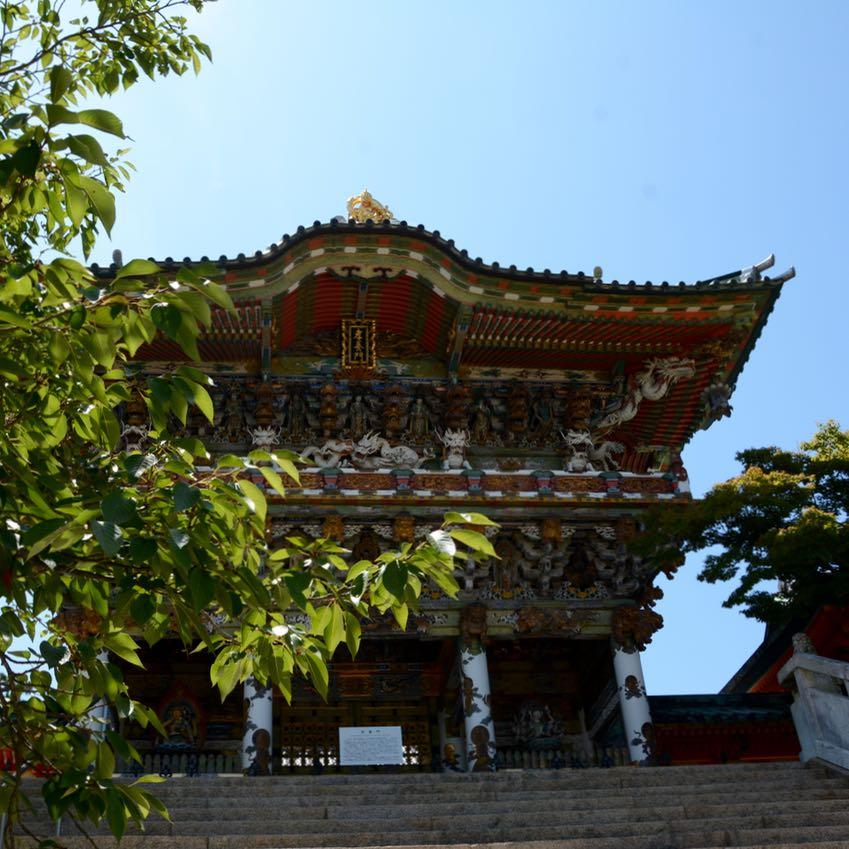 ikuchijima setoda kosanji temple shrine yomeimon gate