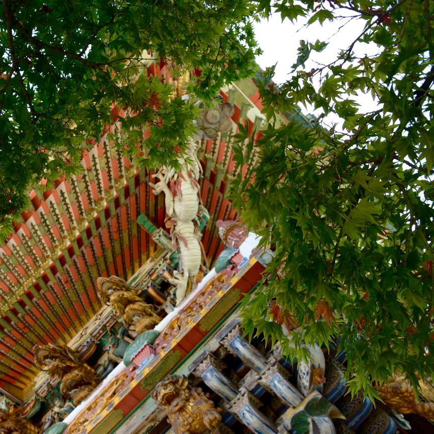 ikuchijima setoda kosanji temple shrine yomeimon gate detail