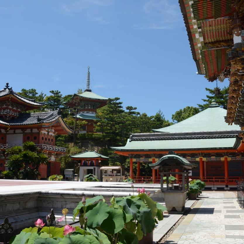 ikuchijima setoda kosanji temple shrine main hall