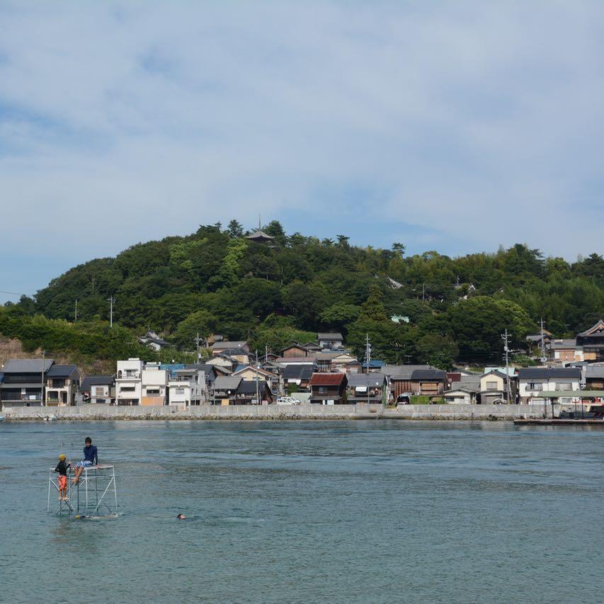 Setoda ikuchijima beach