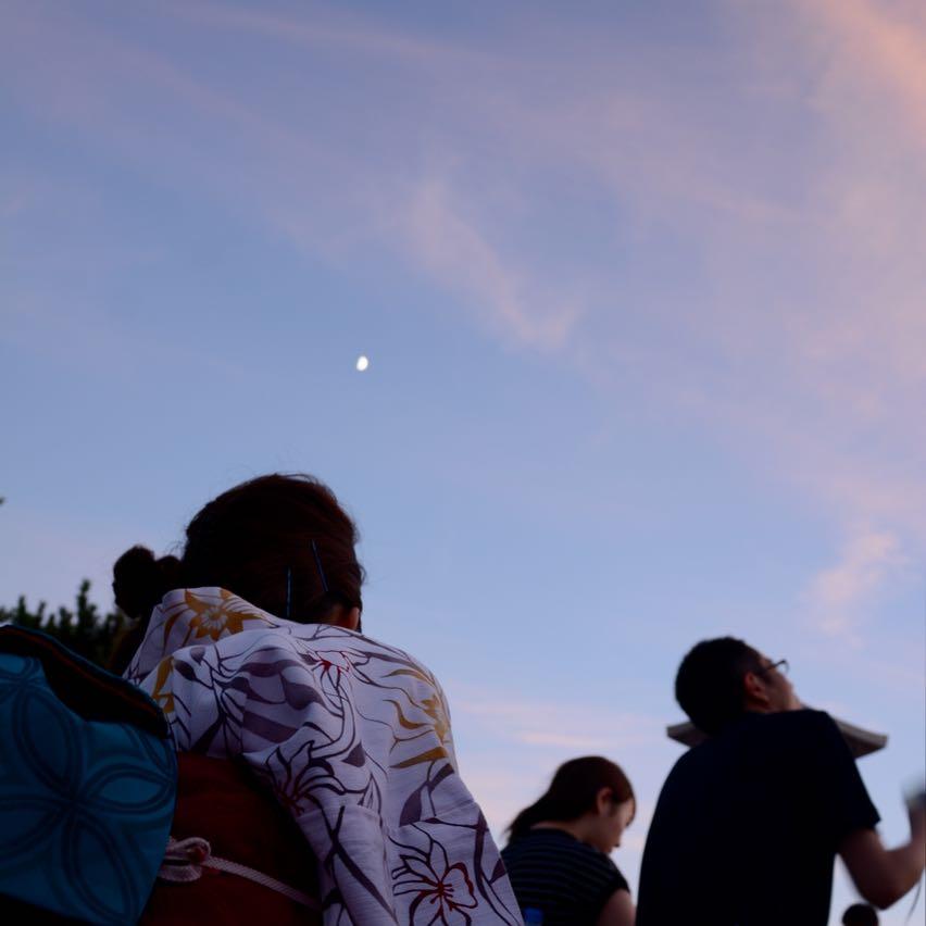 miyajima hanabi firework moon