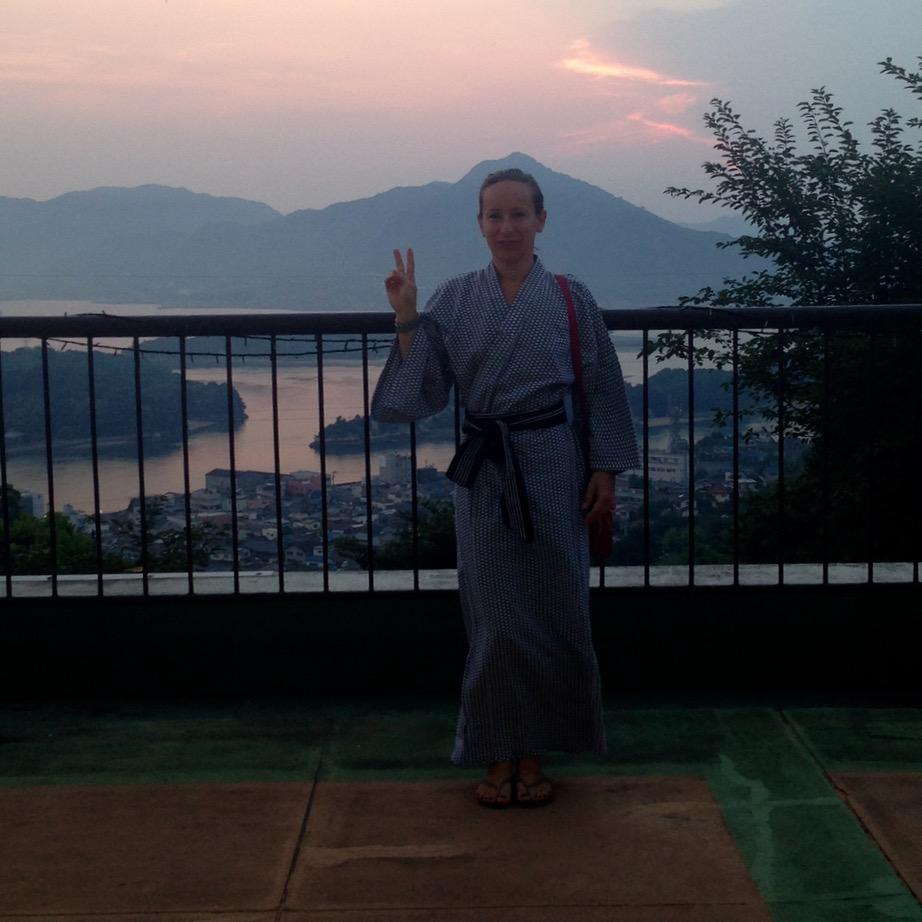 Innoshima hotel yukata