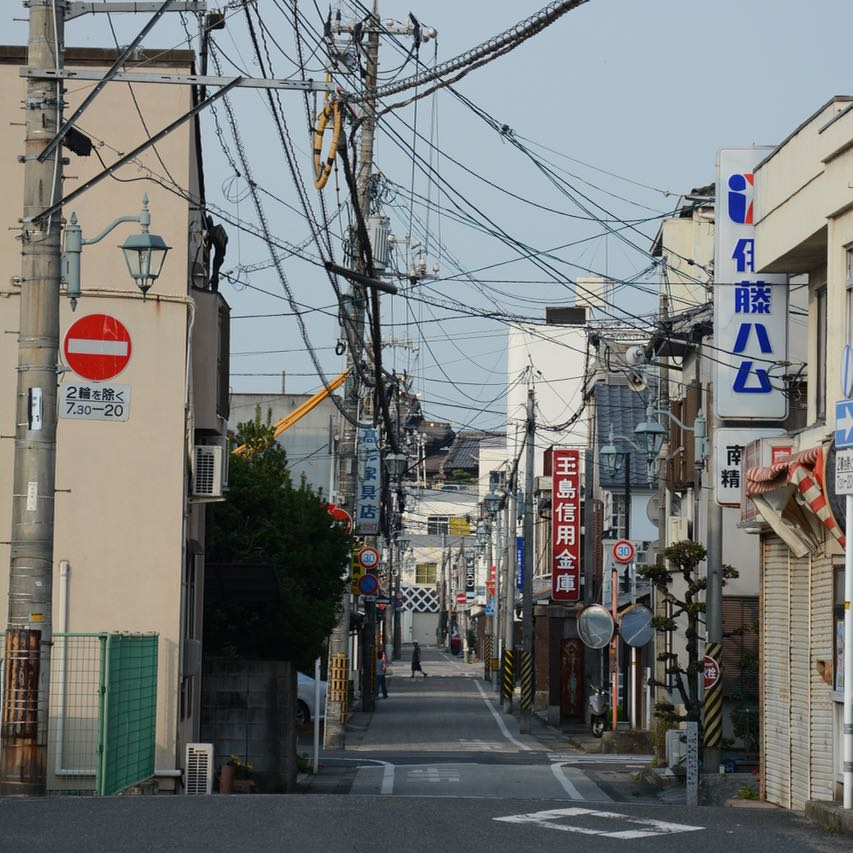 side street Kurashiki