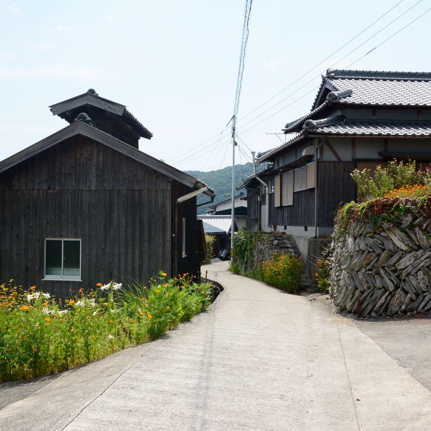 teshima ieura setouchi tirennale karato oka village architecture