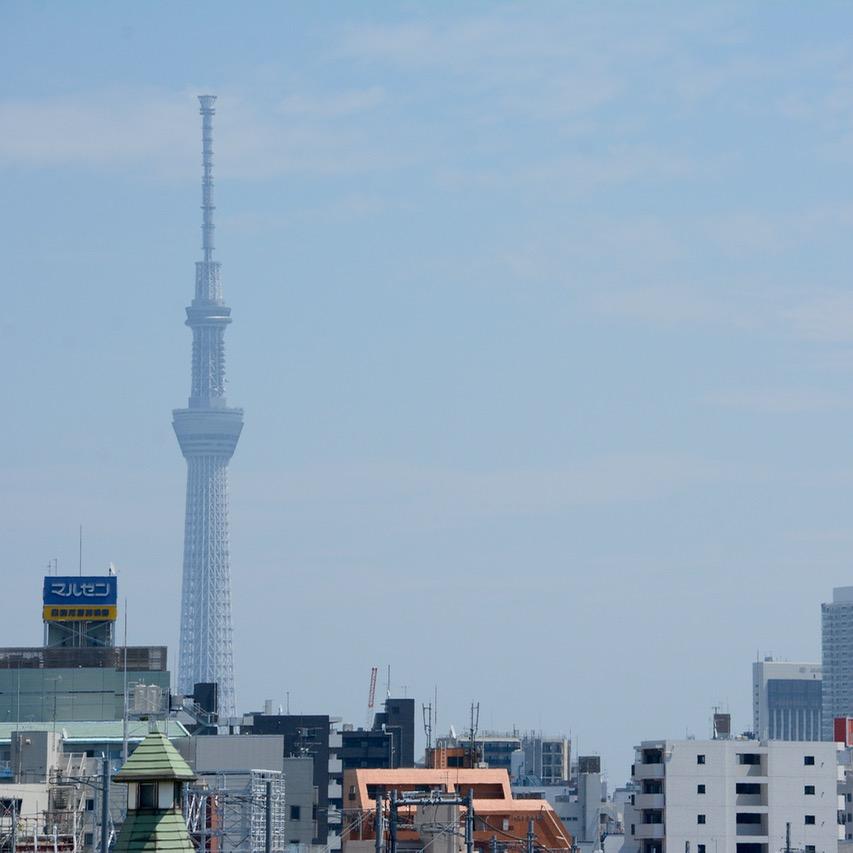 yanaka tokyo asakura fumio museum tokto skytree view