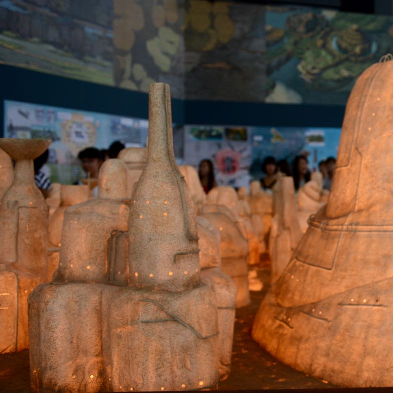 roppongi tokyo mori art museum ghibli exhibition laputa village