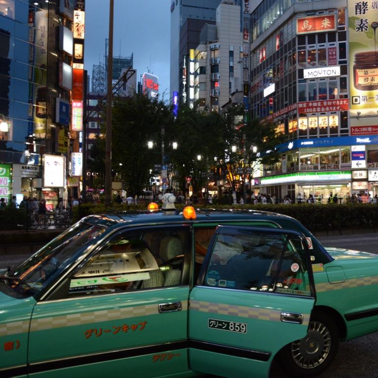 Shinjuku tokyo kabukicho taxi