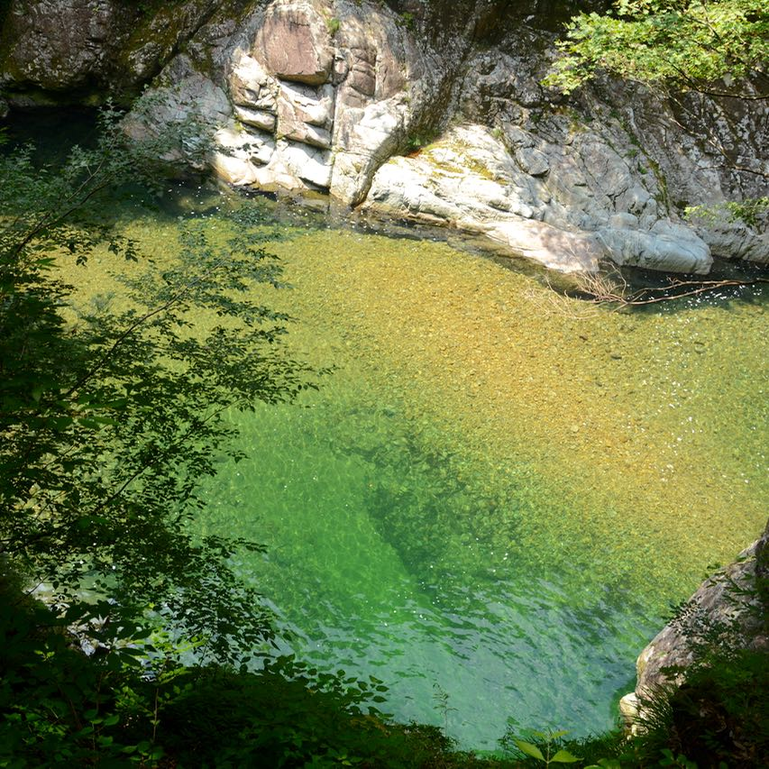 Sandankyo gorge hiroshima japan river water