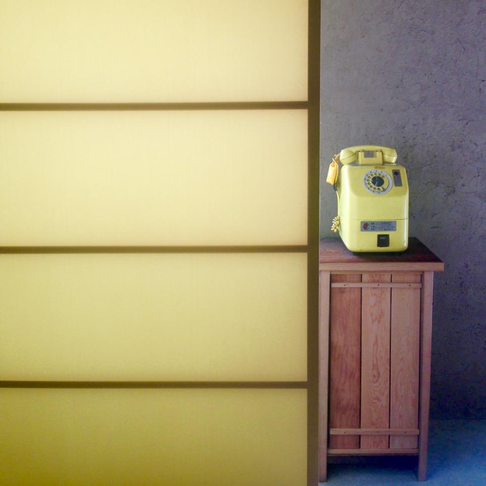 teshima ieura setouchi triennale yellow telephone