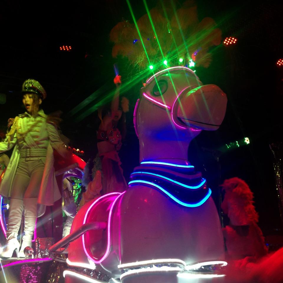 Shinjuku tokyo kabukicho robot cafe horse