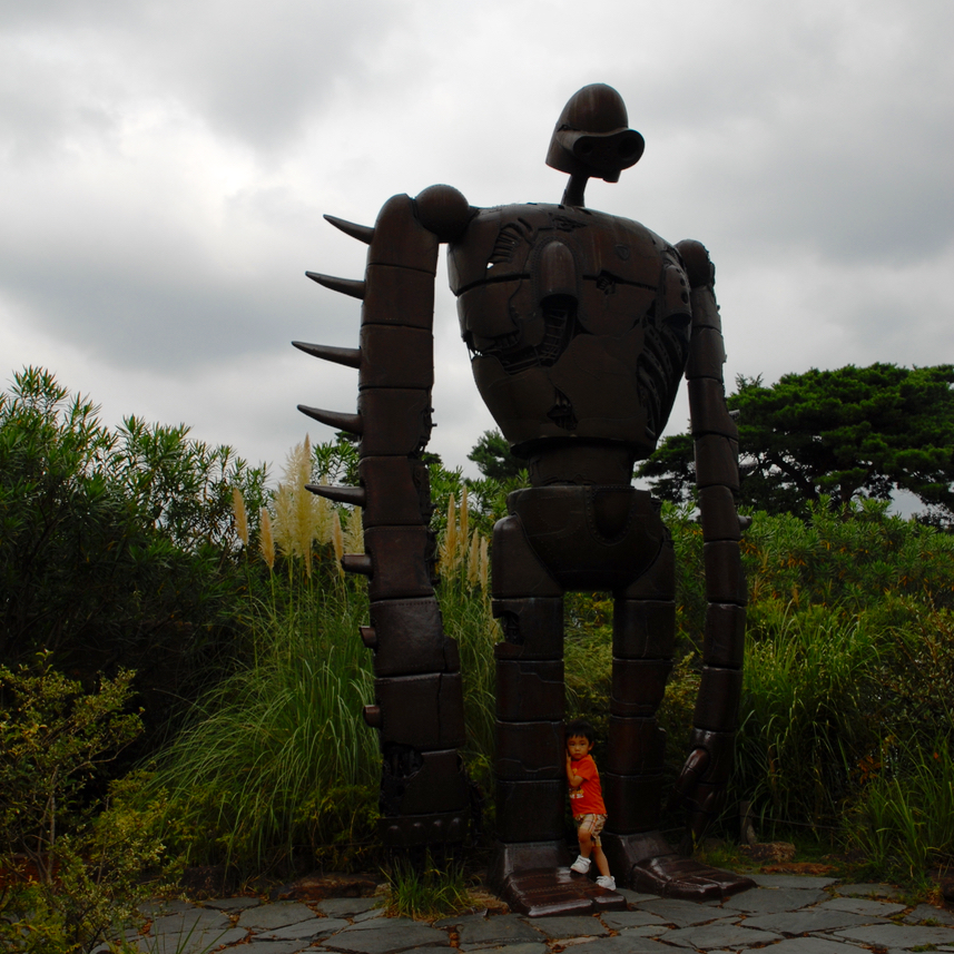 travel with kids japan ghibli museum mitaka