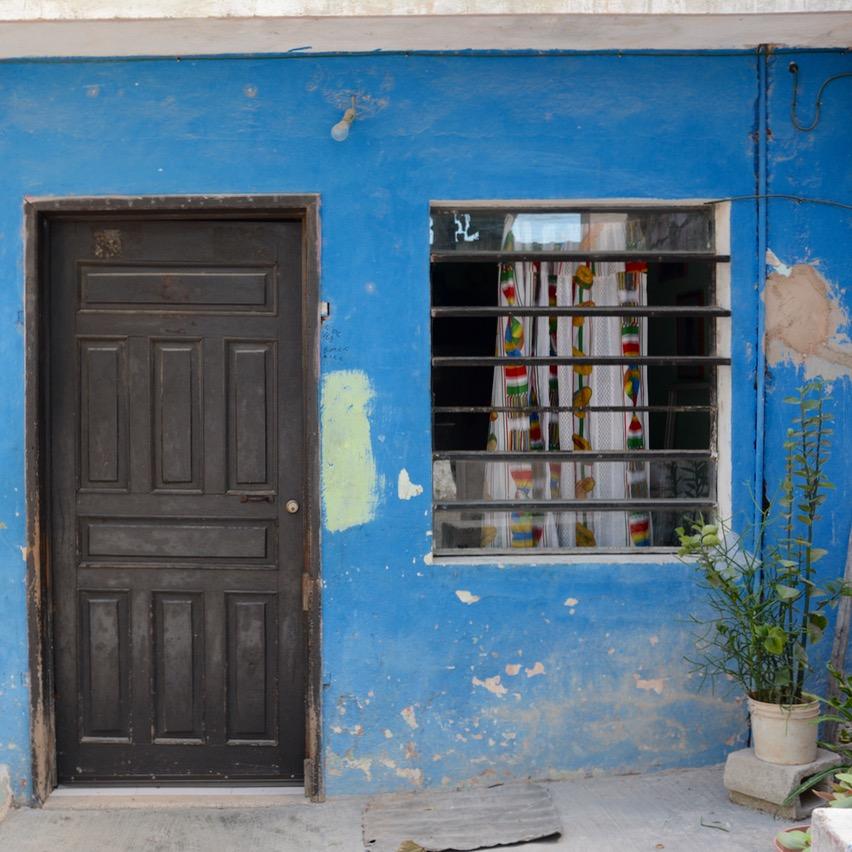 Cancun Mexico valladolid yucatan window