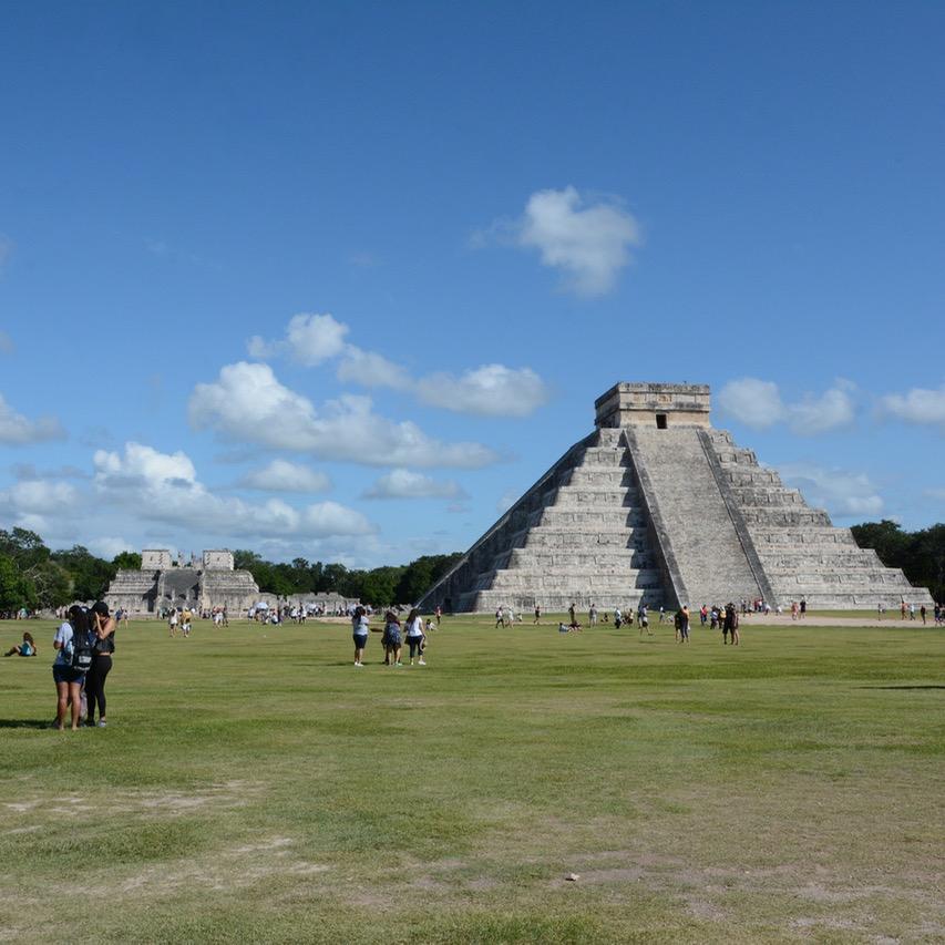 travel with children kids mexico chichen itza