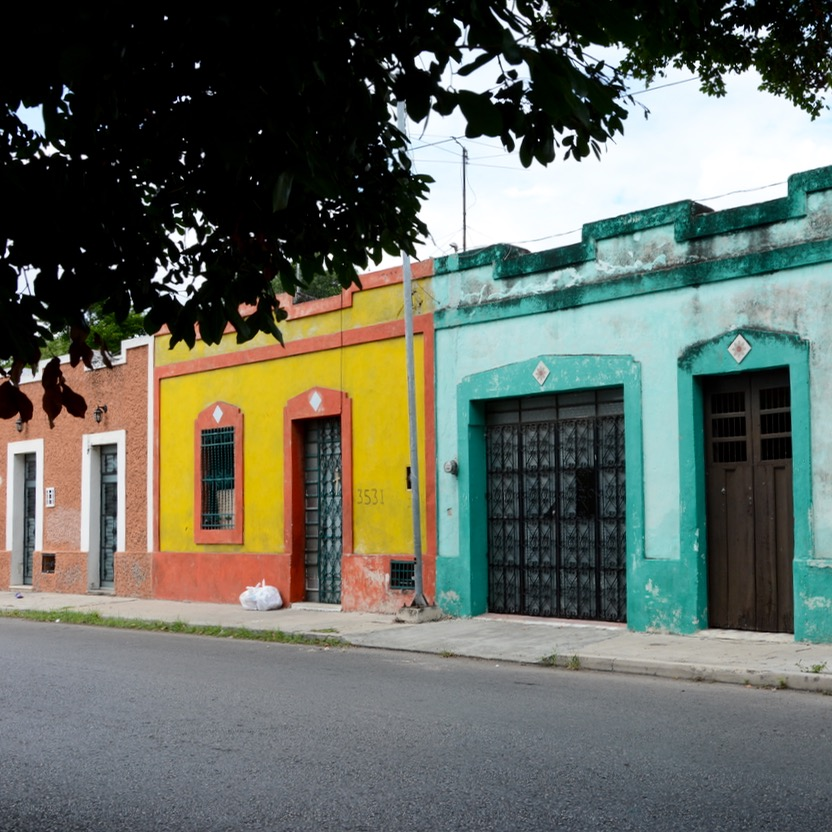 Mexico Merida travel with children kids colonial houses