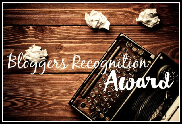 Bloggers Recognition Award travel with children kids