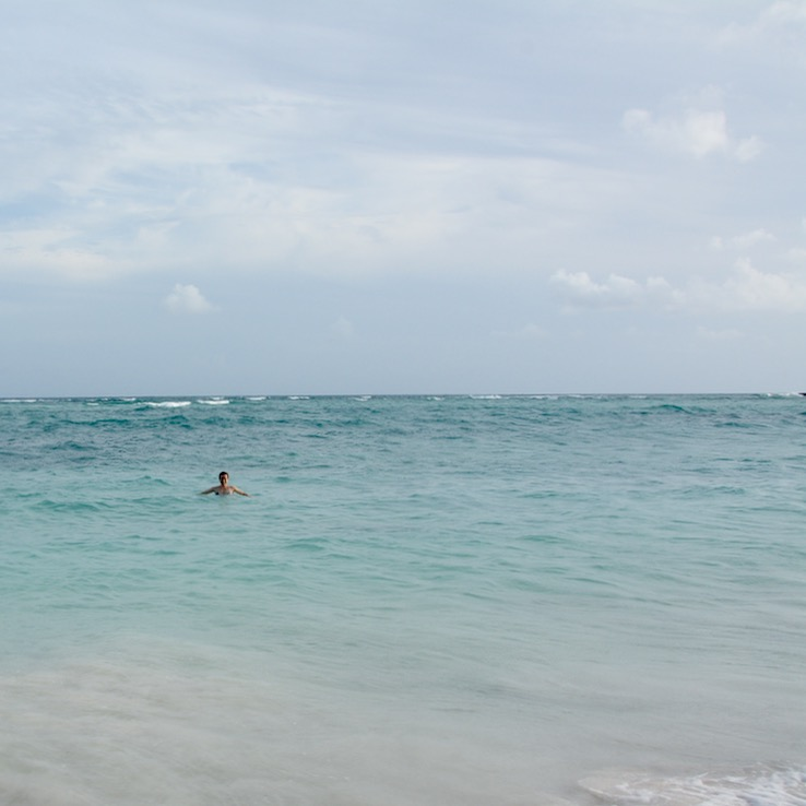 Travel with children kids mexico playa del carmen beach