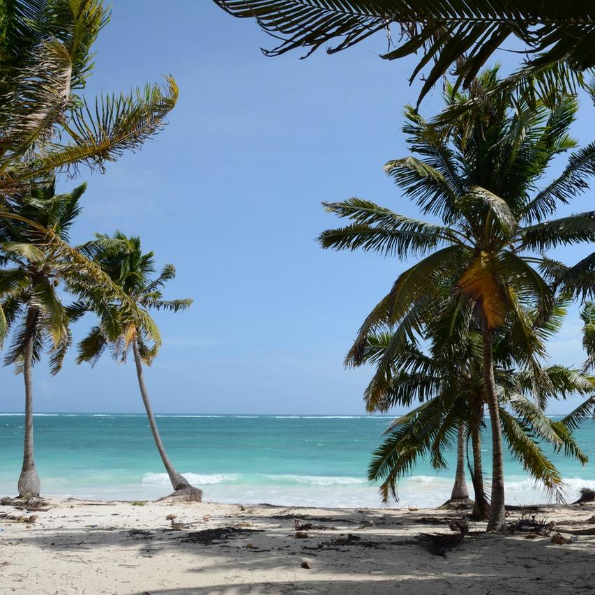 travel with children kids mexico tulum playa beach