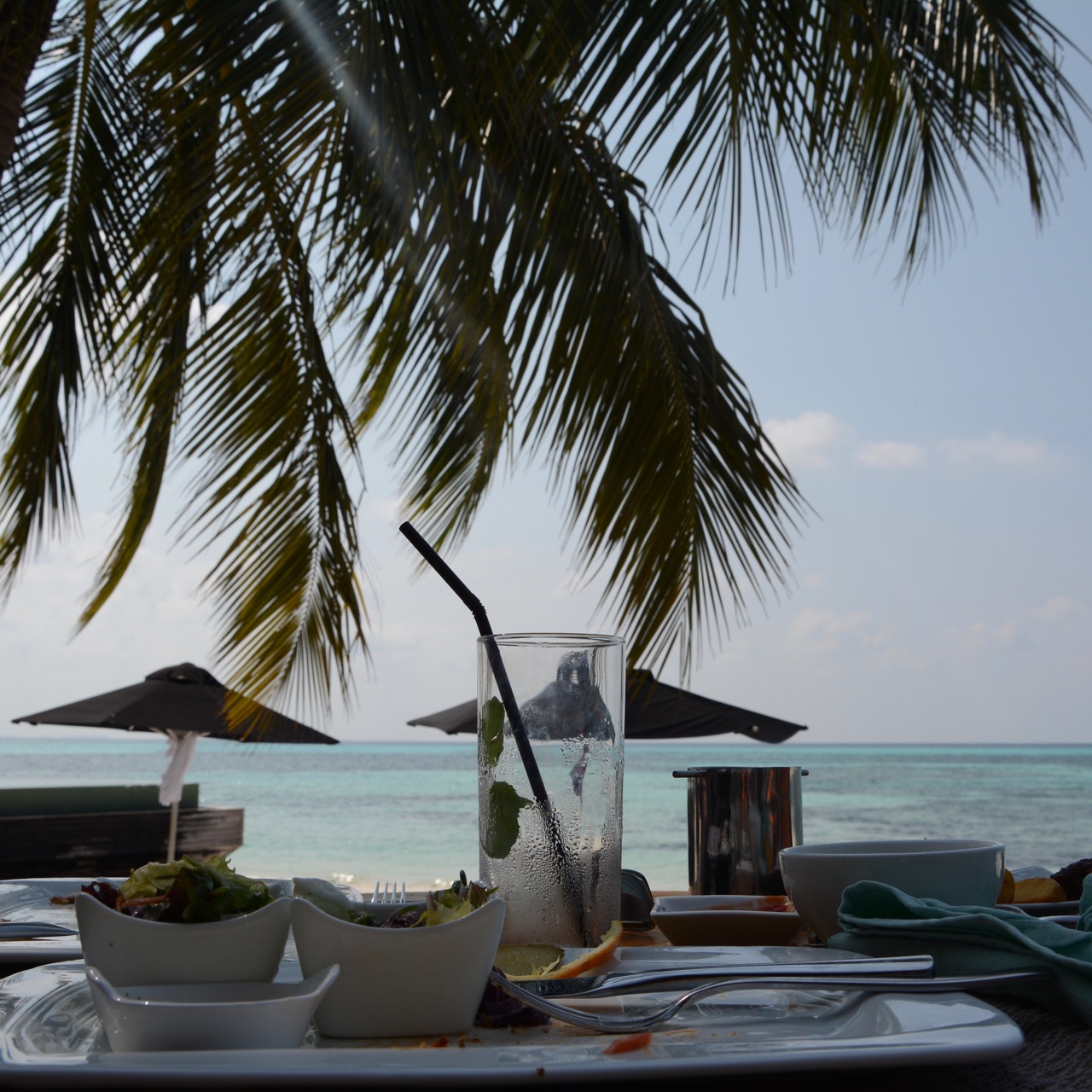 travel with children kids maldives lux south ari atoll paradise lunch