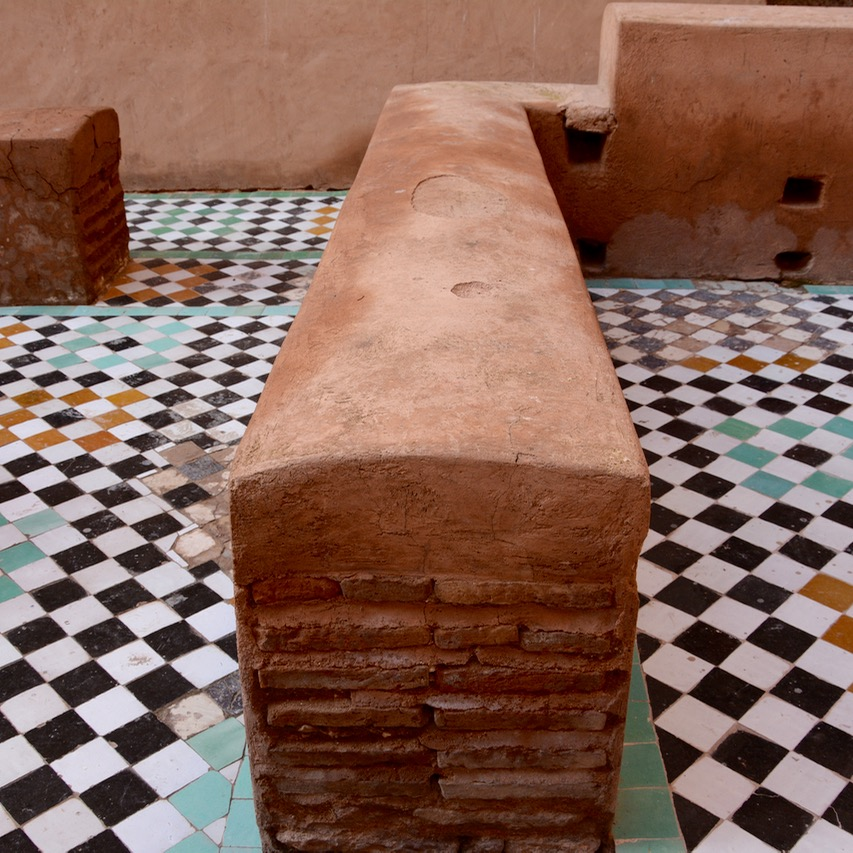 Travel with children kids Marrakech morocco badia palace