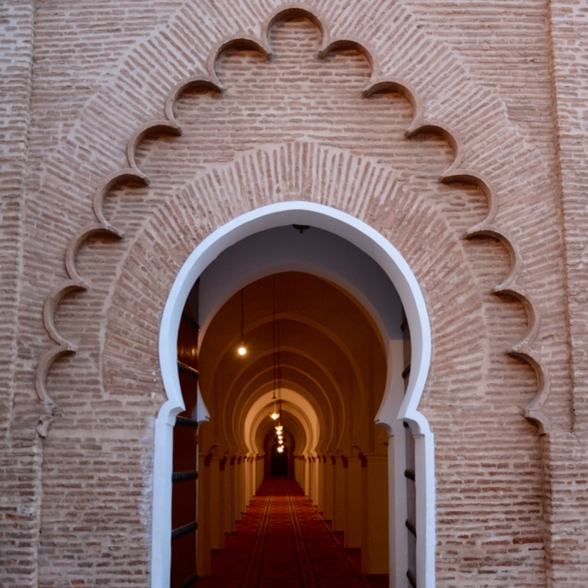 Travel with children kids Marrakesh morocco medina koutoubia mosque
