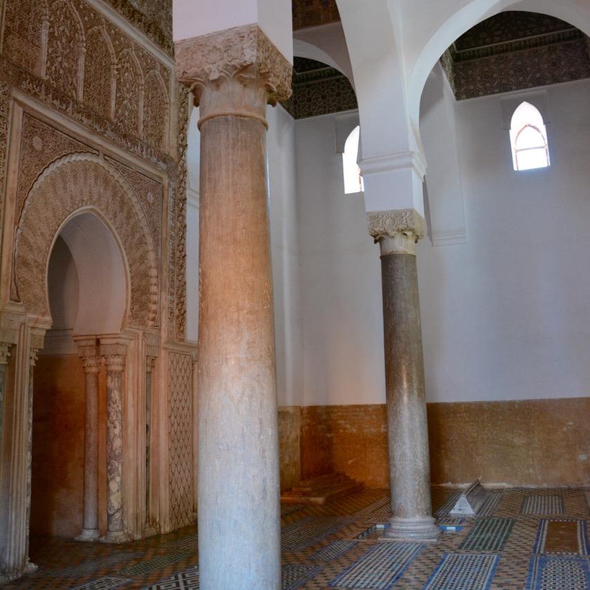 travel with children kids morocco marrakech saadian tombs kings tomb