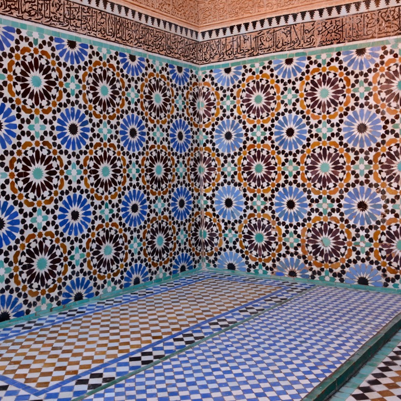 Marrakech, Morocco | Saadian Tombs and the Stunning BahiaPalace