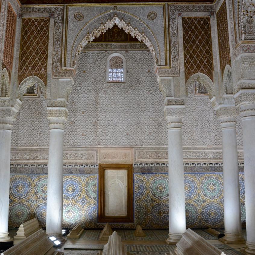 travel with children kids morocco marrakech saadian tombs king