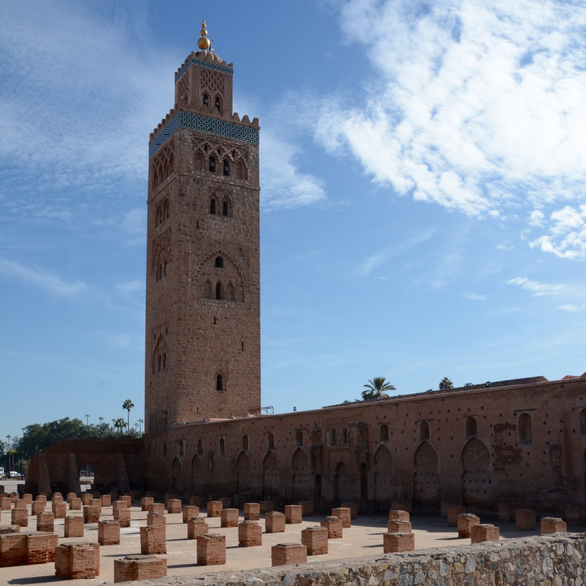 travel with children kids marrakech morocco anima garden andre heller Koutoubia mosque