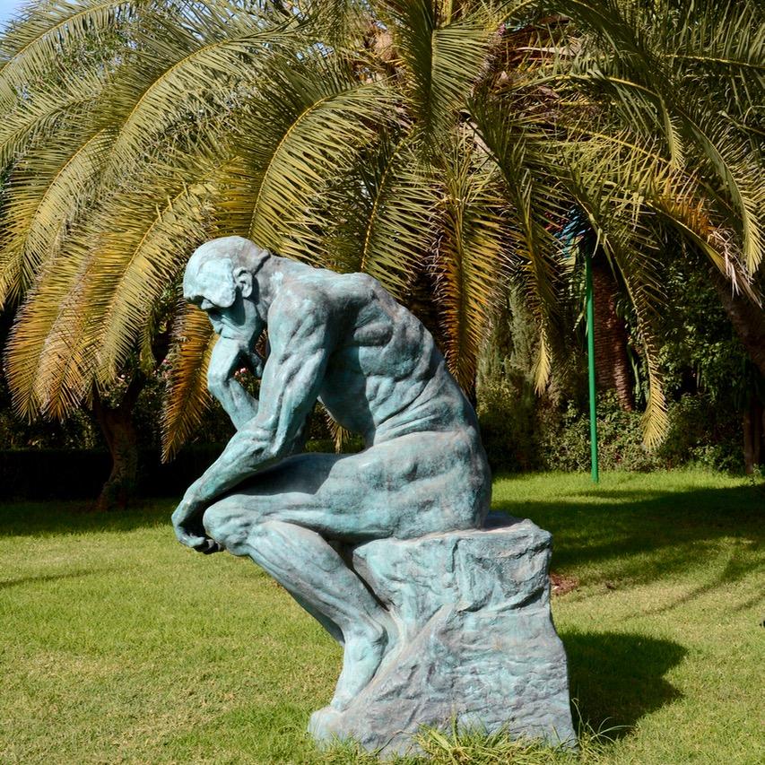 travel with children kids marrakech morocco anima garden andre heller green sculpture