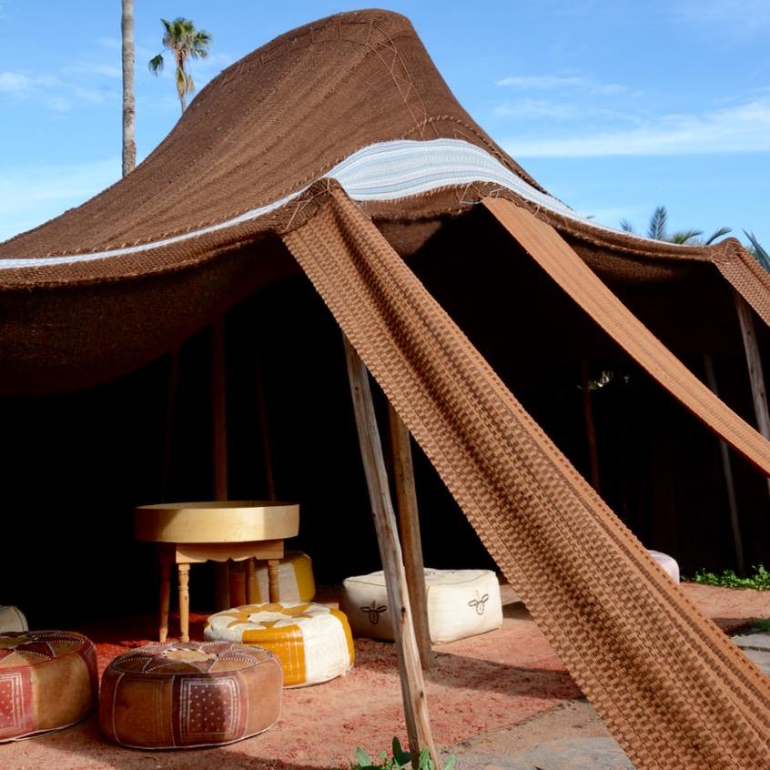 travel with children kids marrakech morocco anima garden andre heller nomads tent