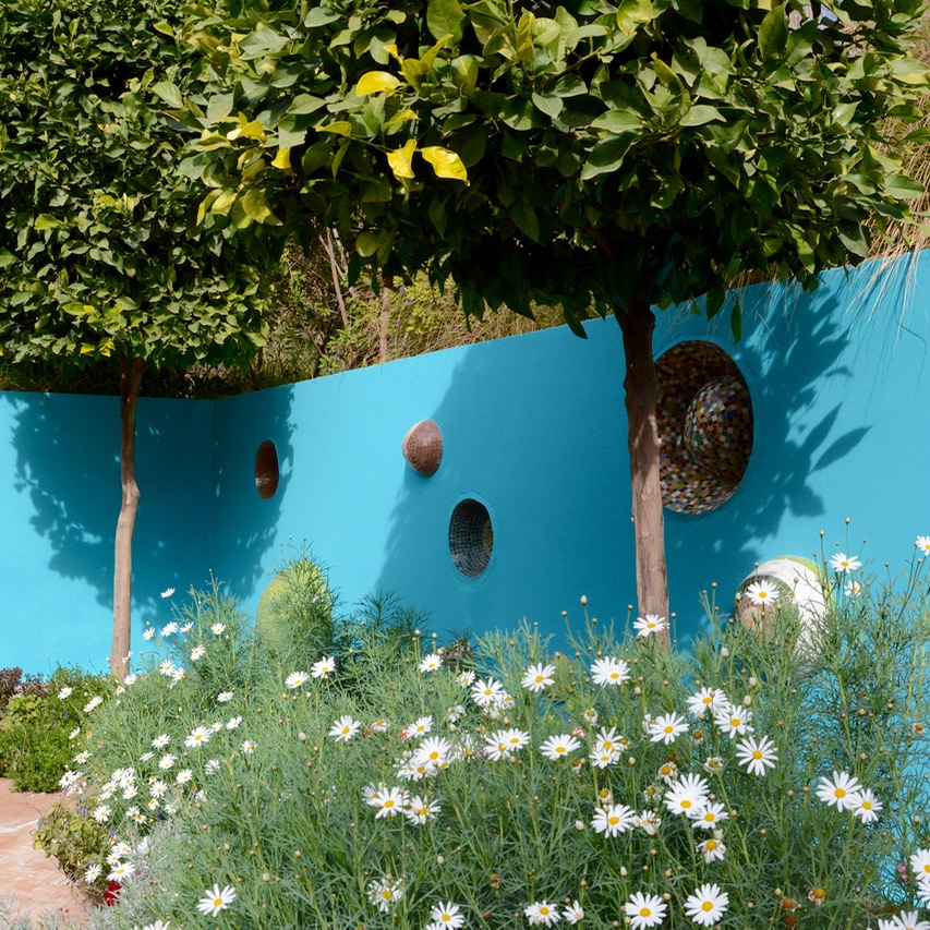 travel with children kids marrakech morocco anima garden andre heller sunken garden