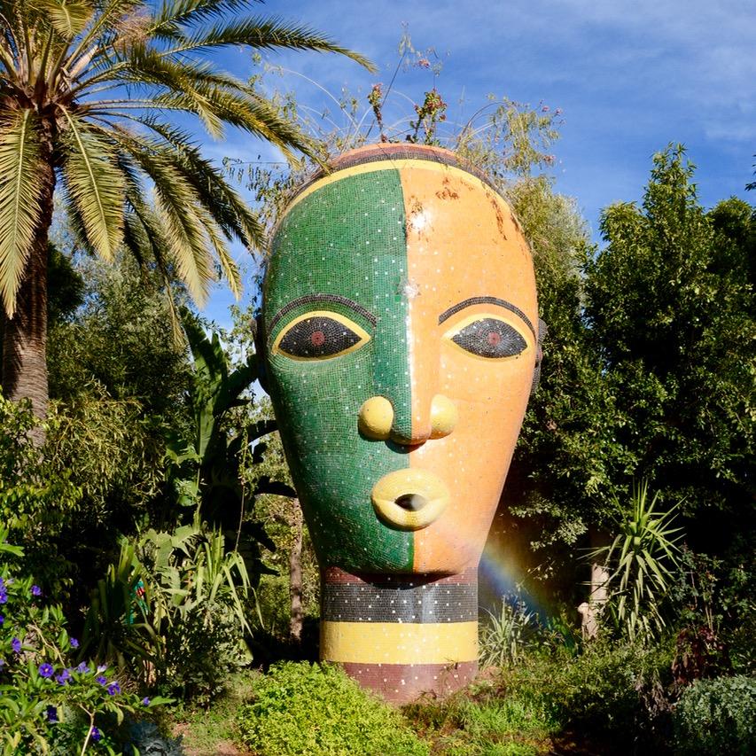 travel with children kids marrakech morocco anima garden andre heller rainbow