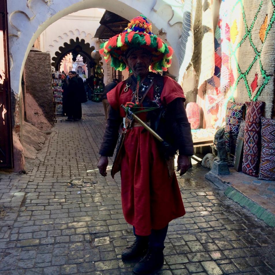 Travel with children kids marrakech morocco berber
