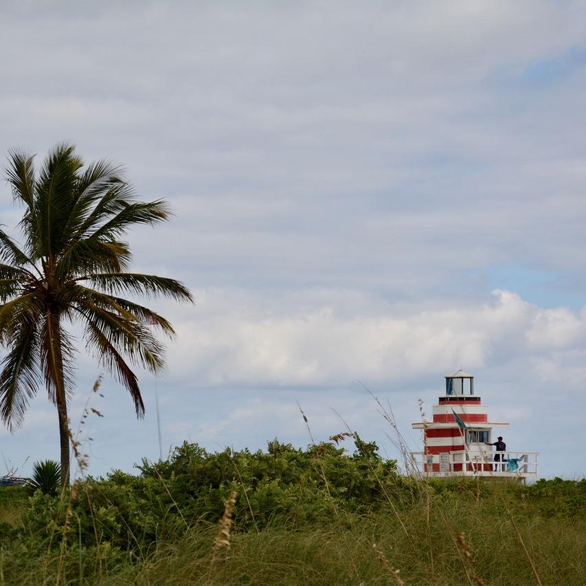 travel with kids children miami south beach art deco architecture life guard