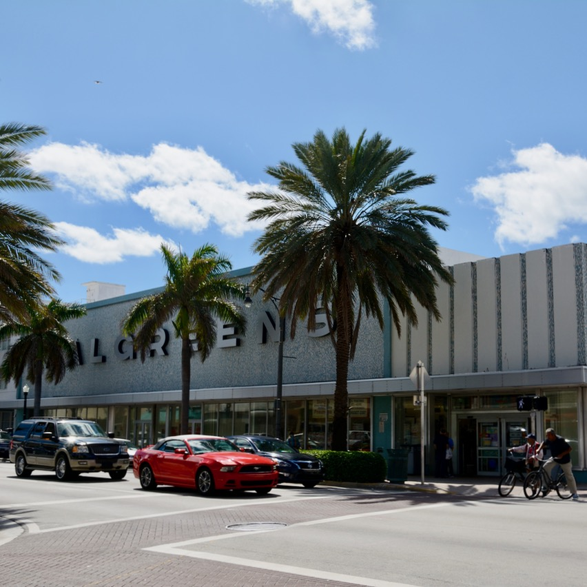 travel with kids children miami south beach art deco walgreens architecture